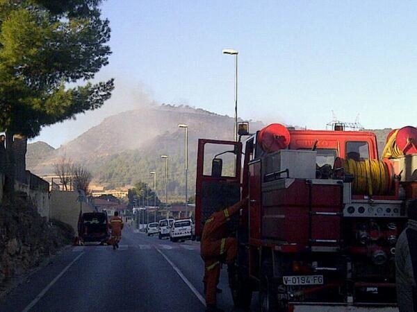 El incendio de Gilet estabilizado