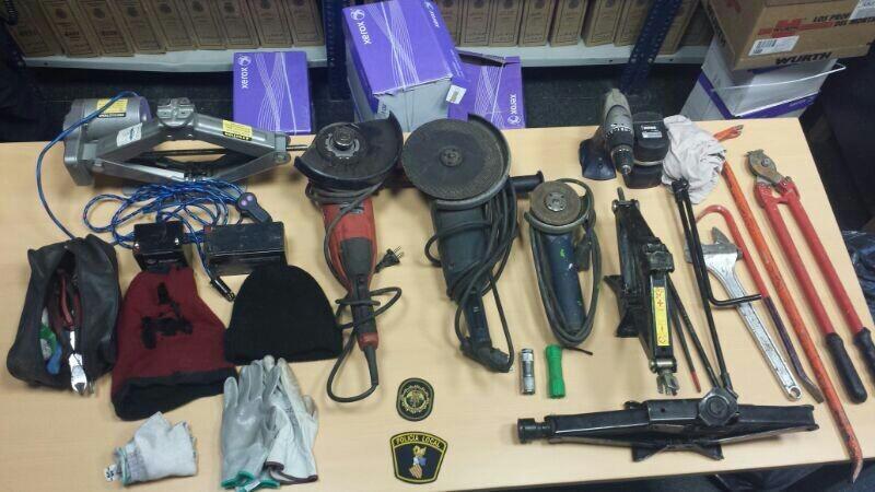Cinco detenidos por varios robos en diferentes poblaciones de Valencia