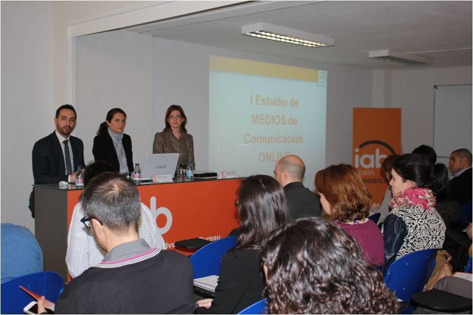 Foto: Presenatción Estudio Medios  IAB Spain