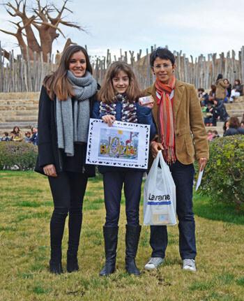 Laura Guerrero - Ganadora del III Concurso de dibujo infantil de Bioparc y Levante