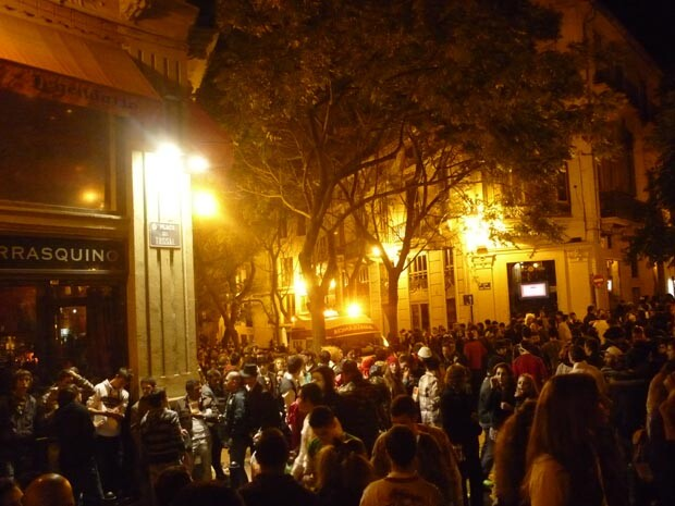 Ocio nocturno del Tossal. Foto Marina Solaz. 2010