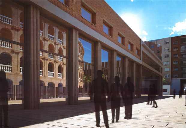 Figuración virtual del nuevo Pasaje Doctor Serra