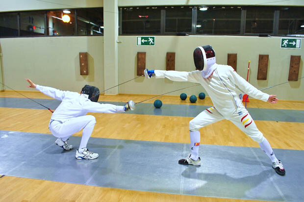 Valero y Carles entrenando. Foto: Cristina Alonso