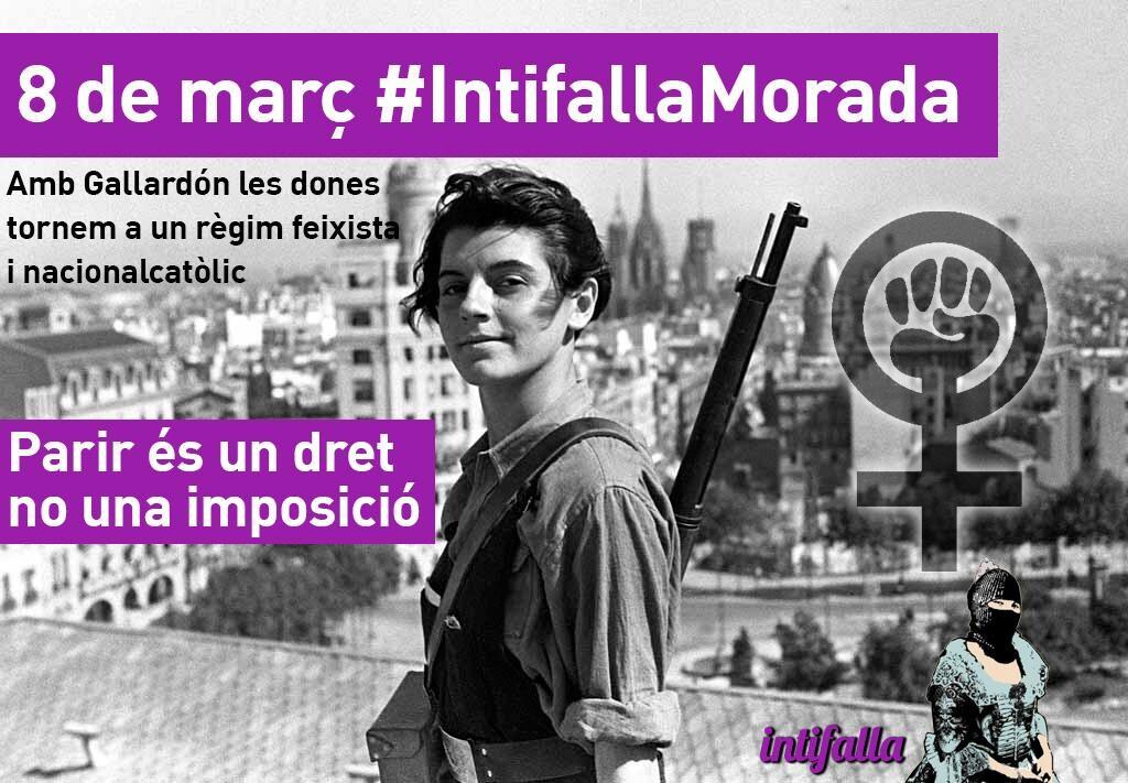 """Imagen de la Intifalla llamando a la """"lucha"""" en las redes sociales como Facebook y Twitter."""