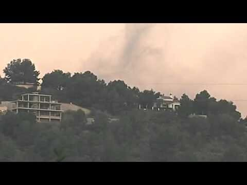 Los bomberos dan por controlado en incendio de Gilet