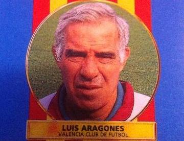 Cromo Liga 96 97 Luis Aragonés