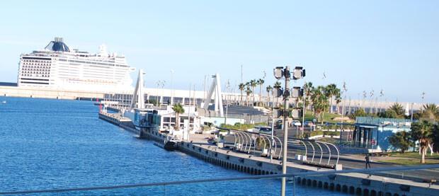 Zona sur del canal. Marina Real Juan Carlos I.