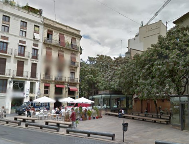 plaza del Tossal.   Google Maps