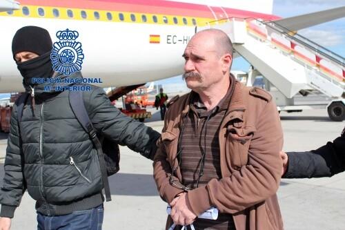 traslada desde Francia al miembro de ETA José Lorenzo Ayestarán Legorburu