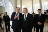 2014-03-27. Galán y Lula, con los directivos (I)