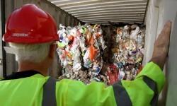 Household rubbish sent to Brazil