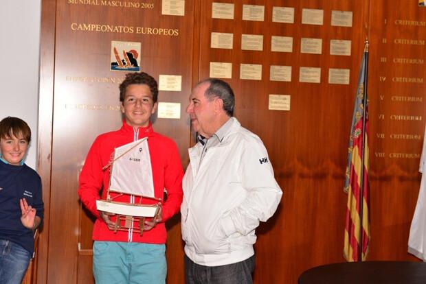Carlos Balaguer Primera Clasificado Optimist