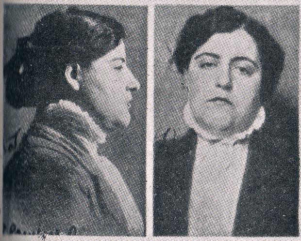 Carterista La Campos. Ficha policial 1915. A. P. R. S.