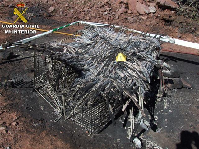 Detenido autor del incendio forestal que arraso 20 hectáreas del Parque Natural de Sierra Calderona (Small)