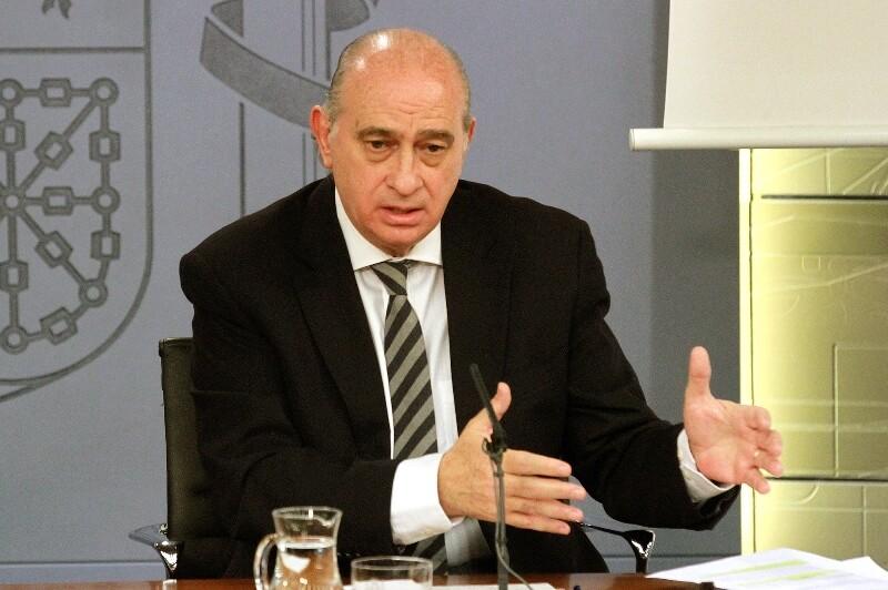 El ministro del Interior, Jorge Fernández Díaz, en una imagen de Archivo