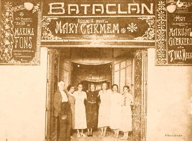 Entrada al Bataclan. 1934, A. P. R. S.