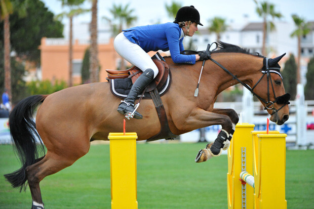 GOLD 2 at CSI2* Mediterranean Equestrian Tour II at Oliva Nova Equestrian Center, Oliva - SPAIN