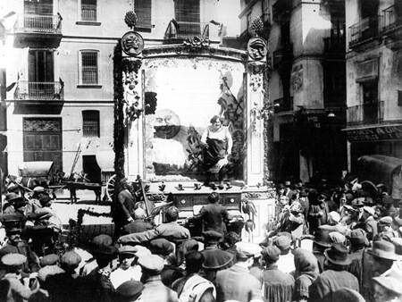 Año 1912. Falla Plaza del Doctor Collado