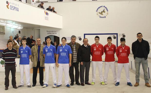 Presentacio de la final de la Lliga Cespiva juvenil