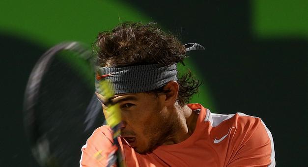 Rafael Nadal en Miami 2014 Tenis