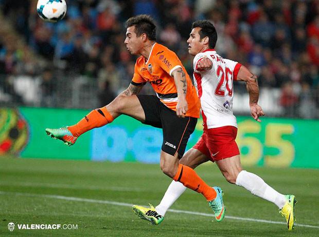 Vargas se marcó un gol de una definición exquisita. Foto: VCF