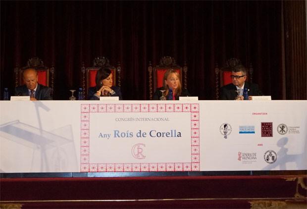 Congreso Internacional con el que dio comienzo el Any Roís de Corella