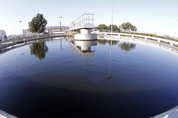 Una planta depuradora en Valencia. Foto de archivo