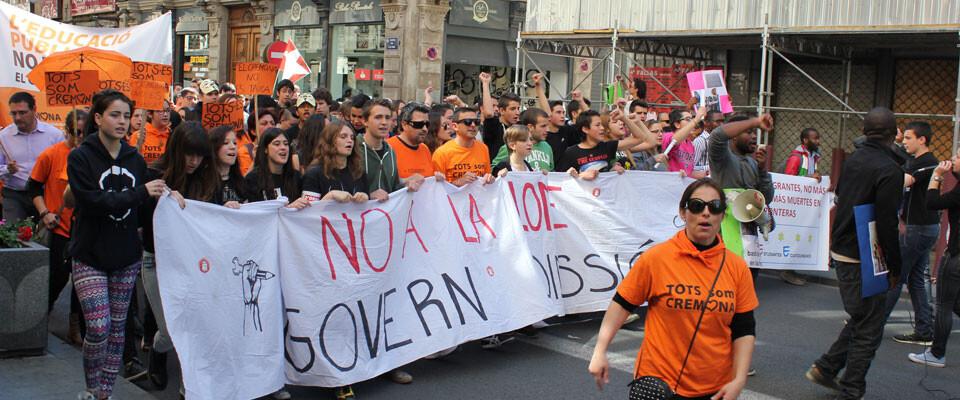 manifestacion-estudiantil