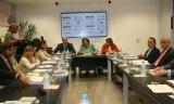 sala de la estación del AVE Joaquín Sorolla donde se celebró la primera reunión en dos años del consejo de Parque Central/ayto. vlc