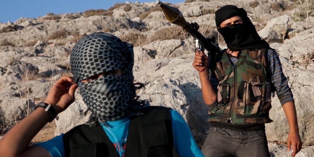 siria. yihadistas