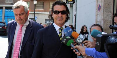 Betoret, saliendo del Tribunal Superior de Justícia de Valencia. (Foto archivo: ACN)
