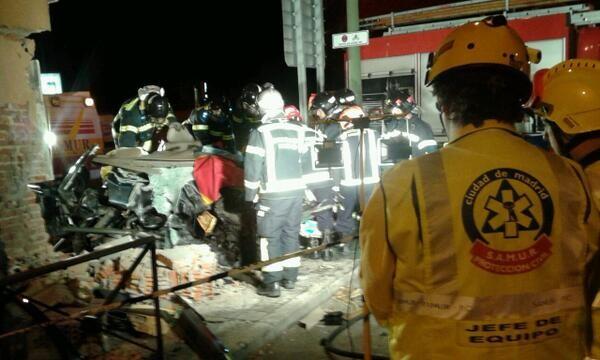 Accidente mortal en la avenida Pío XII-2
