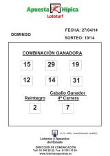 COMBINACION_GANADORA_LOTOTURF_27_04_14_001