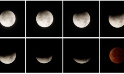 Panama Eclipse Blood Moon