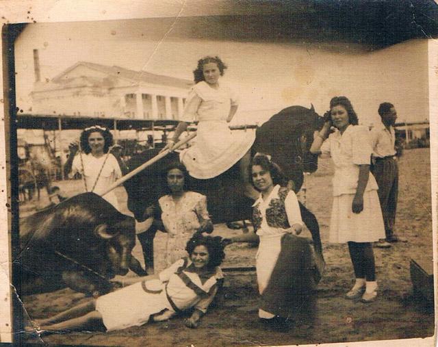 Foto minutera. Playa de la Malvarrosa, años 30. A. P. R. S.
