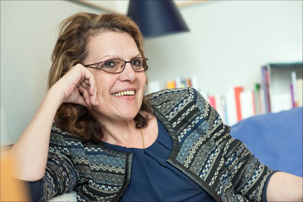 Marie-Christine Vergiat, eurodiputada francesa del Grupo Confederal de la Izquierda Unitaria