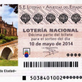 Próximo sorteo, sorteo especial de mayo de lotería nacional Coria 10 de mayo de 2014