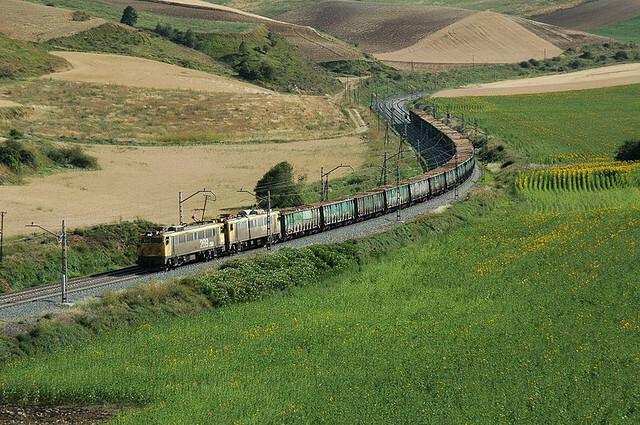 Tren-Mercancias