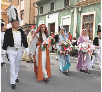 acto coleccitivo desfile semana santa