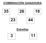 combinación ganadora sorteo euromillones martes 29 abril 2014