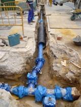 obras agua potable Cabanyal