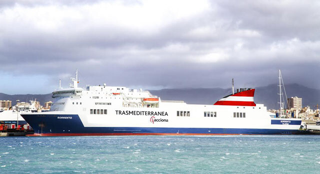 El buque Sorrento, en una imagen de archivo.