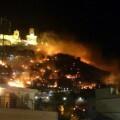 Incendio Castillo Cullera