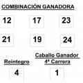 COMBINACIÓN GANADORA DE LA APUESTA HÍPICA LOTOTURF DEL DOMINGO 25 DE MAYO DE 2014
