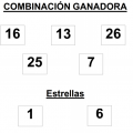 Combinación ganadora del sorteo de euromillones del martes 27 de mayo de 2014