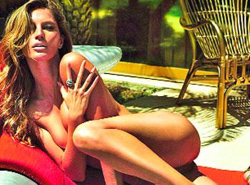 Gisele Bündchen posa desnuda
