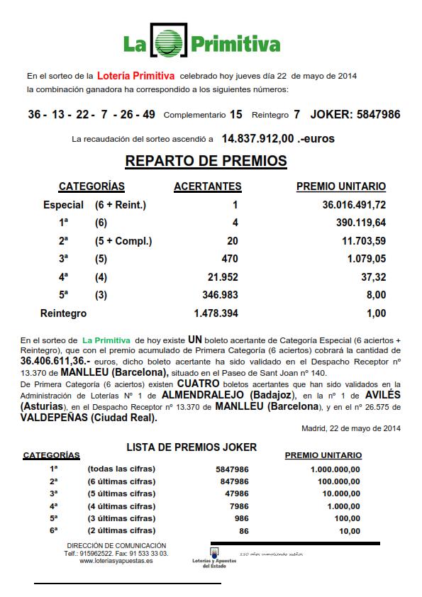 NOTA_DE_PRENSA_DE_LA_PRIMITIVA_DEL_JUEVES _22_05_14_001
