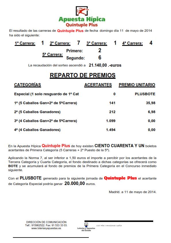 NOTA_DE_PRENSA_DE_QUINTUPLE_PLUS_11_05_14_001