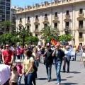 La manifestación en Valencia pide empleo de calidad y un modelo económico al servicio de las personas