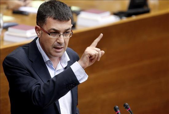 Enric Morera, en una intervención en Les Corts durante la anterior legislatura. Foto de archivo